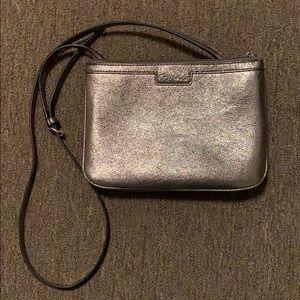 Calvin Klein Bags - Calvin Klein Silver Crossbody